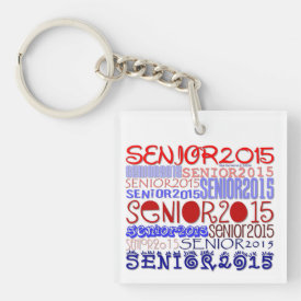 Senior 2015 Keychain (Double-Sided/Personalize)