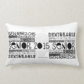 Senior 2015 Lumbar Pillow (Personalize)
