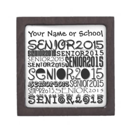 Senior 2015 Magnetic Lid Box (Personalize)