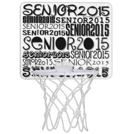Senior 2015 Mini Basketball Hoop