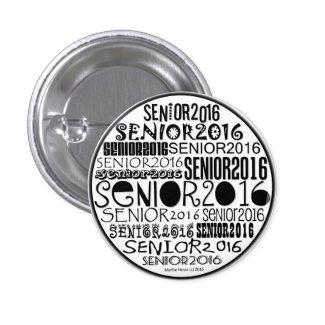 Senior 2016 Button Pin