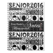 Senior 2016 - Homework Notes Notebook