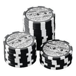 Senior 2016 Poker Chip Poker Chips