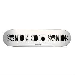 Senior 2016 Skateboard Pro