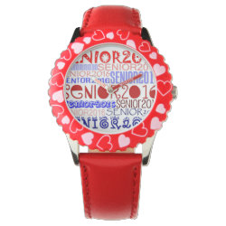 Senior 2016 Watch (Red White & Blue)