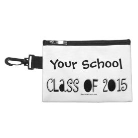 Senior/Class of 2015 (Personalize) Clip-On Bag Accessories Bag