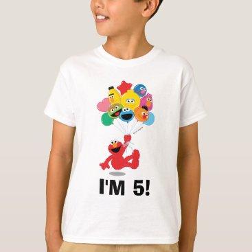 Sesame Street   Elmo and Pals - Birthday Balloons T-Shirt