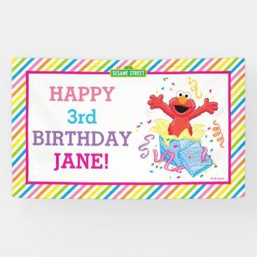 Sesame Street | Elmo Girl's Birthday Banner