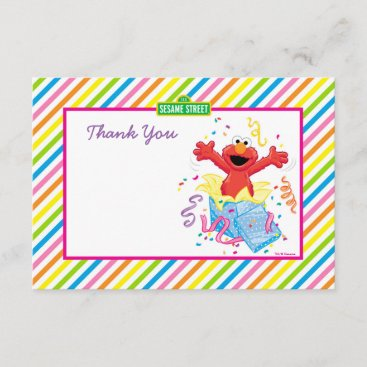 Sesame Street | Elmo Girl's Birthday Thank You Card
