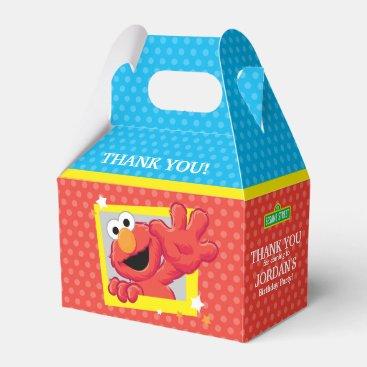 Sesame Street | Elmo - Polka Dot & Stars Birthday  Favor Box
