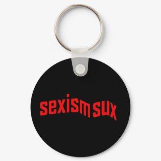 sexism sux Keychain keychain