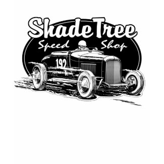 Shade Tree Speed Shop black shirt
