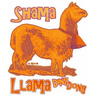 Shama Llama shirt