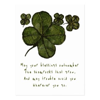 Shamrock Fields Post Cards