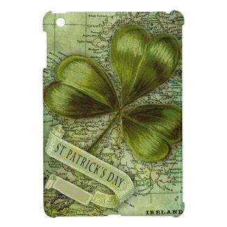 Shamrock for Ireland Cover For The iPad Mini