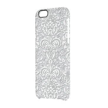 Sheer Silk Floral Print Effect iPhone Case