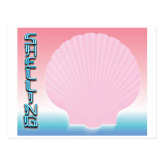 Shelling 2 postcard