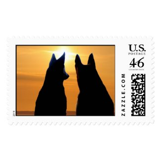 Shepherd Sundown Postage
