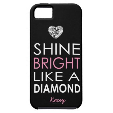 Shine bright like a Diamond - personalized iPhone SE/5/5s Case
