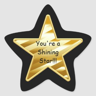 Shining Star Sticker