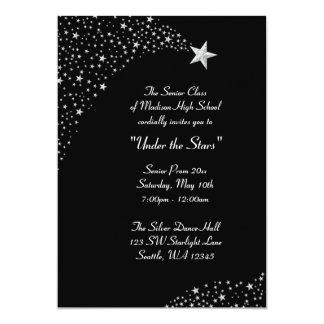 Moon Stars String Lights Wedding Invitations