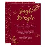 Single Mingle Valentine's Day Party Invitation