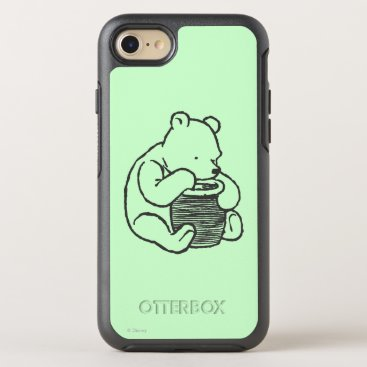 Sketch Winnie the Pooh 3 OtterBox Symmetry iPhone 8/7 Case