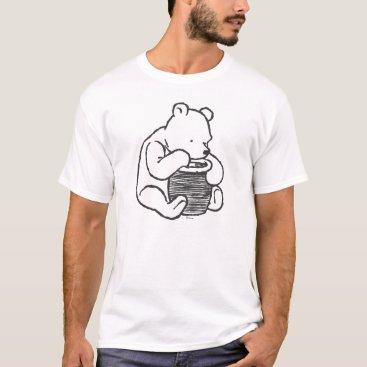 Sketch Winnie the Pooh 3 T-Shirt