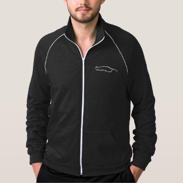 Skyline GT-R White Sihoutte Jacket