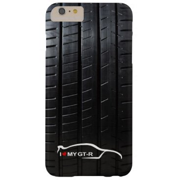 Skyline GT-R with Tire Tread Barely There iPhone 6 Plus Case