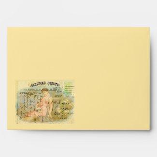 Sleeping Beauty Envelopes