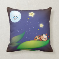 Sleeping Ladybug Pillows