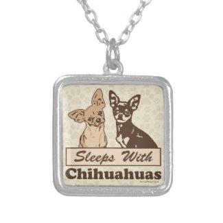 Sleeps With Chihuahuas Custom Jewelry