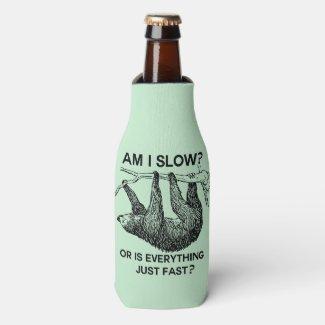 Sloth am I slow? Bottle Cooler