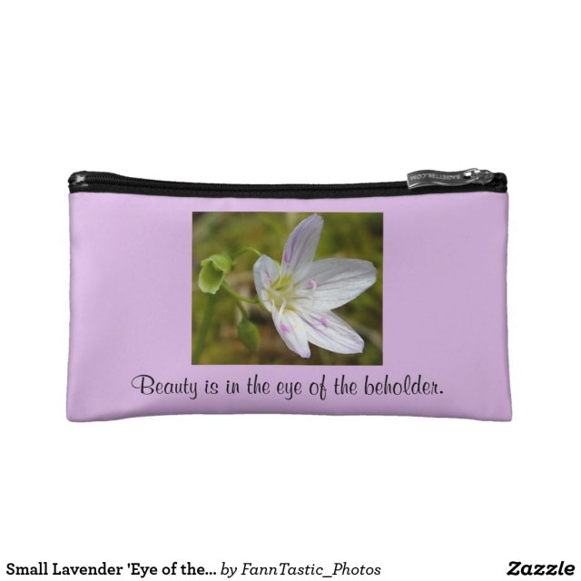 Small Lavender 'Eye of the Beholder' Bag