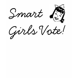 Smart Girls Vote! shirt