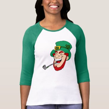 Smiling Leprechaun St. Patrick's Day T-Shirt