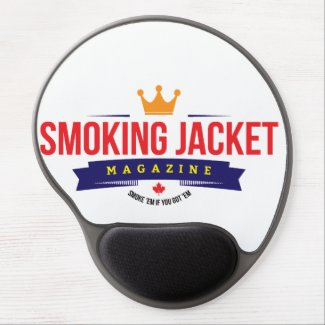 Smoking Jacket Magazine Gel Mousepad