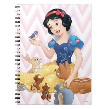 Snow White and the Forest Animals Notebook