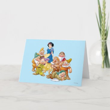 Snow White and the Seven Dwarfs 2 Card