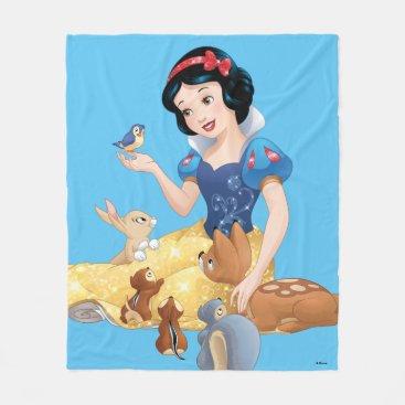 Snow White   Make Time For Buddies Fleece Blanket