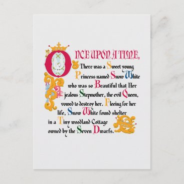 Snow White | Once Upon A Time Postcard