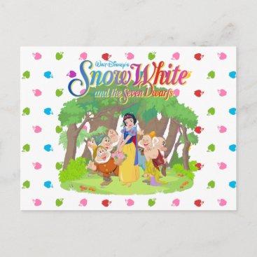 Snow White & the Seven Dwarfs | Wishes Come True Postcard