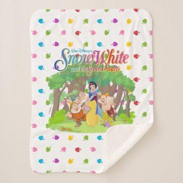 Snow White & the Seven Dwarfs | Wishes Come True Sherpa Blanket