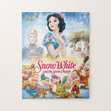 Snow White Theatrical Collage Jigsaw Puzzle