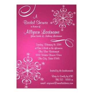 Pink Brown Wedding Invitation Kit