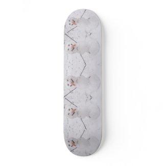 Snowman Pizzazz! skateboard