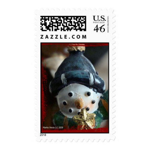Snowman Postage Stamps stamp