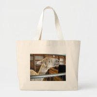 Snowy Guy I Large Tote Bag