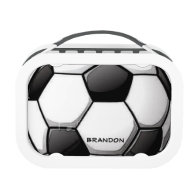 Soccer Ball Design Lunchbox